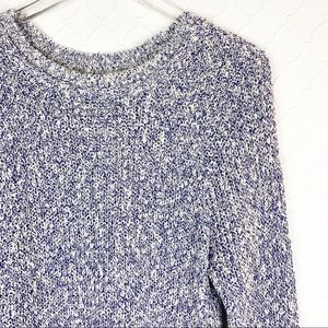 Free People Sweaters - FREE PEOPLE Electric City Pullover Sweater Blue XS